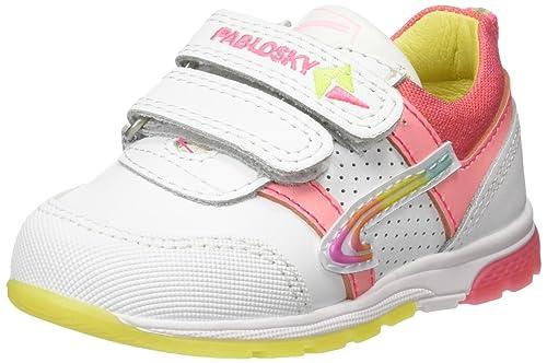 Pablosky 267907, Zapatillas para Niñas, Blanco, 25 EU