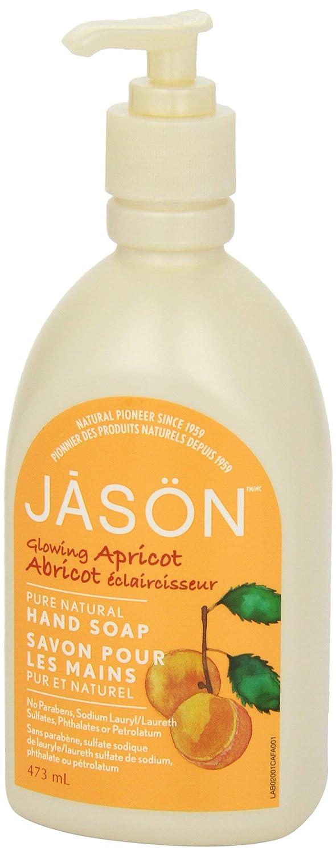 Jason Glowing Apricot Hand Soap, 473ml 02001