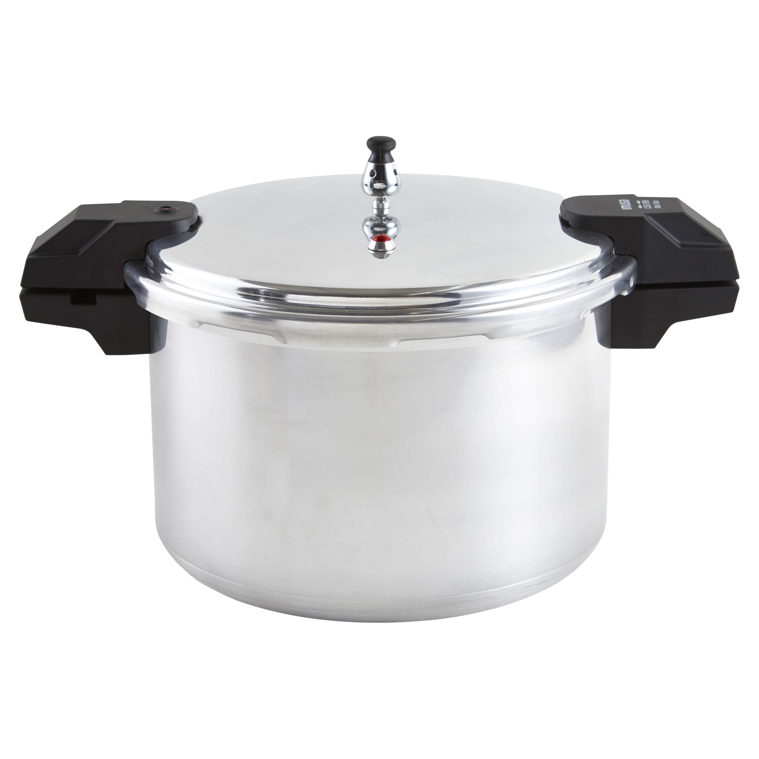 IMUSA USA A417-80808 22Qt Jumbo Stovetop Pressure Cooker, Silver