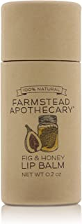 product image for Farmstead Apothecary, Lip Balm Fig Honey, 0.2oz