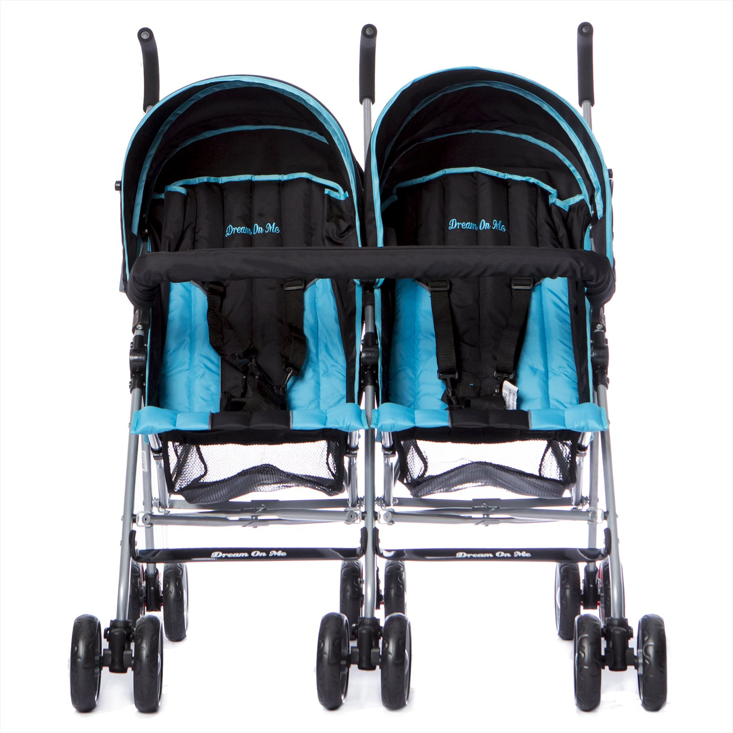 Dream On Me Twin Stroller, Dark Blue by Dream On Me (Image #3)