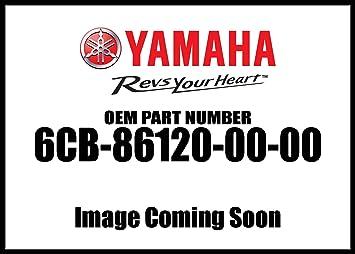 YAMAHA SOLENOID VALVE ASSY #6CB-86120-00-00