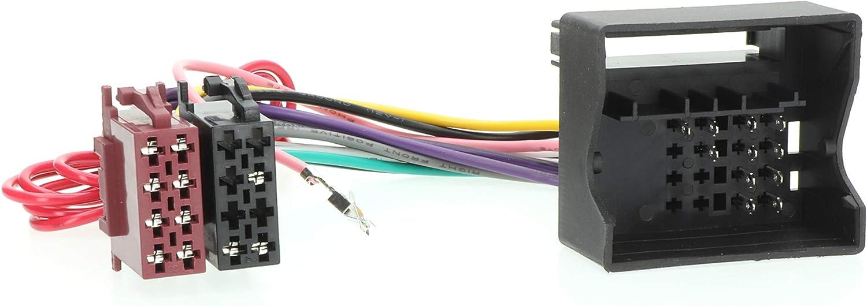 RedLine Solutions RL 016001 Conector ISO para VW Golf 5 03>, Touran, Passat 02>, Skoda Octavia 04>, Maserati