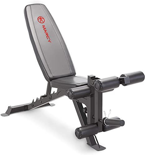 Marcy Adjustable Utility Bench with Leg Developer