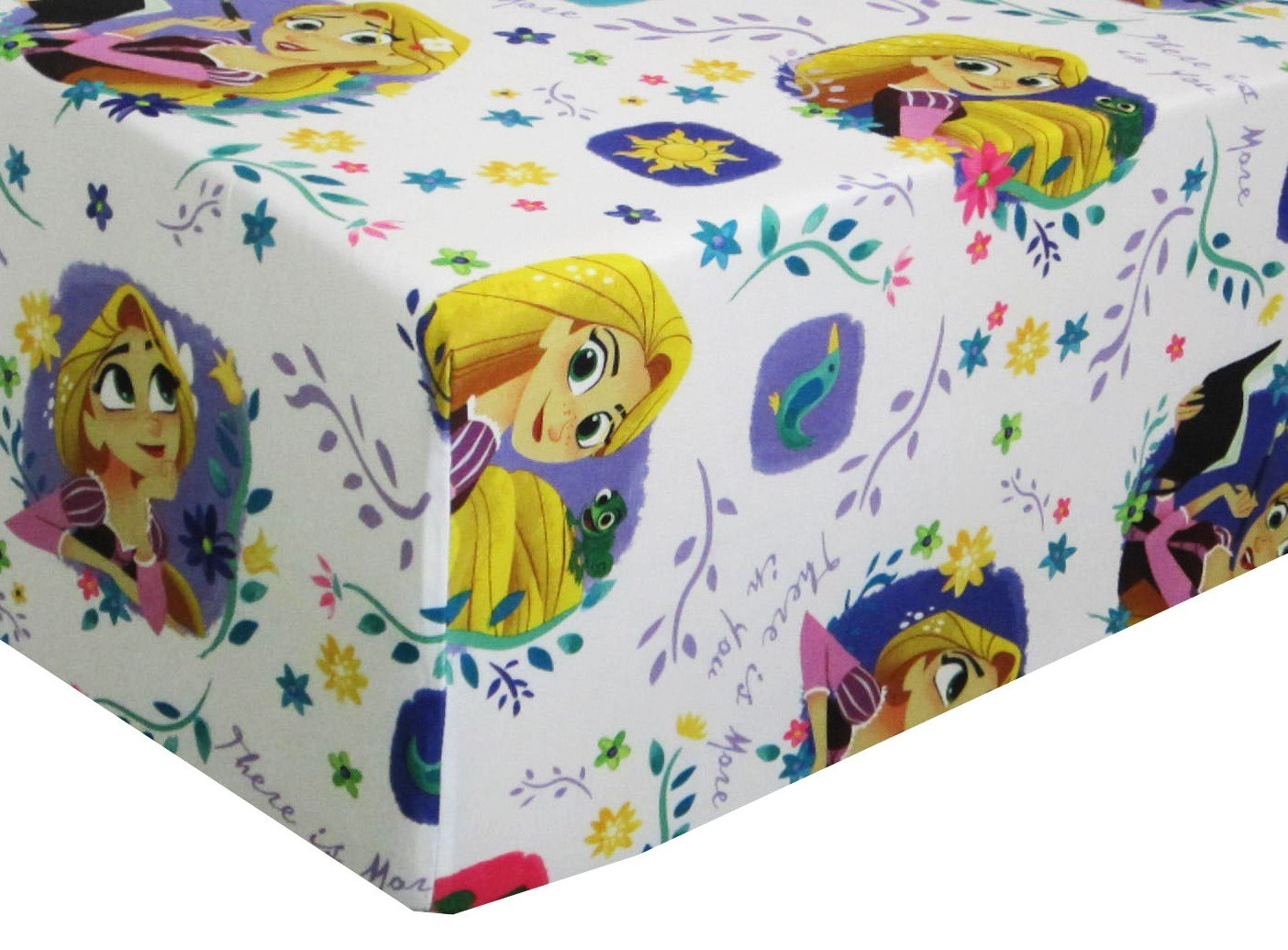 Tangled Dream Adventure 100% Polyester (Fitted Sheet ONLY) Size Twin Girls Kids Bedding Franco Manufacturing Co. Inc.