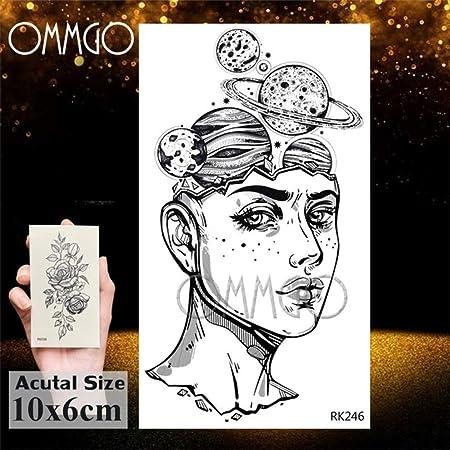 5 Unids- Gagalxy Acuarela León Tigre Tatuajes Etiqueta Diamante ...