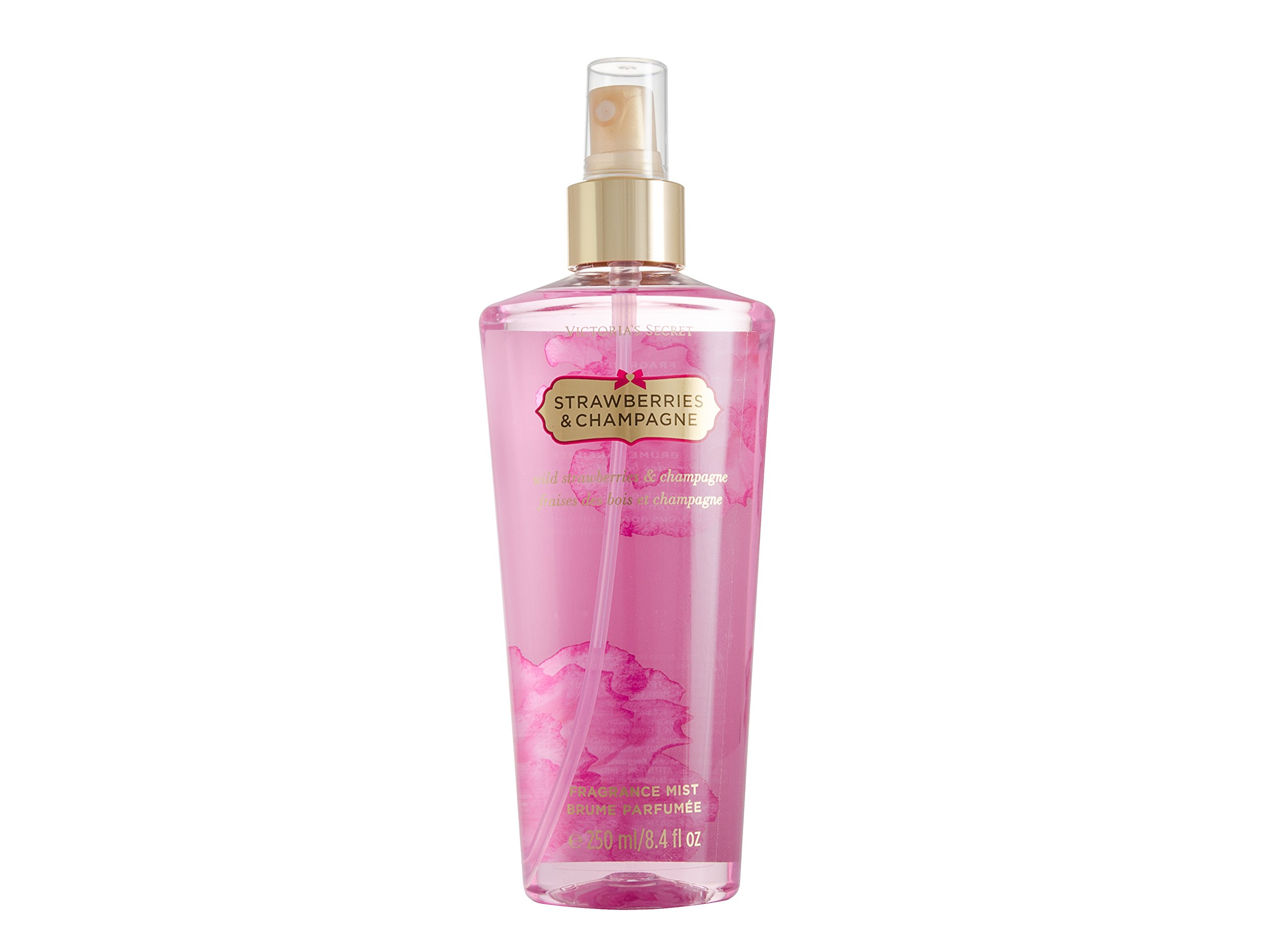 Victorias Secret Strawberries Champagne Gift Set Body Foam Secrets Fantasies Fragrance Mist 84