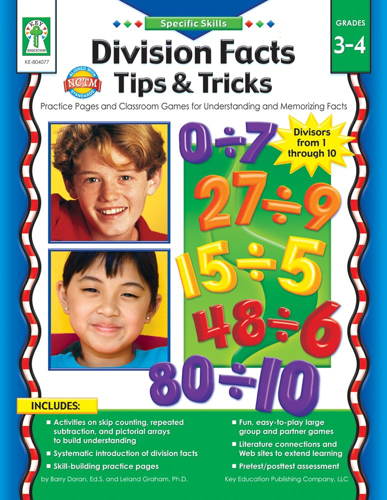 Download Specific Skills: Division Facts Tips & Tricks, Grades 3 - 4 PDF