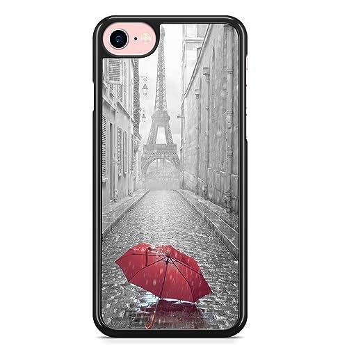 Coque iPhone 7 PLUS et iPhone 8 PLUS Paris Ruelle Parapluie ...
