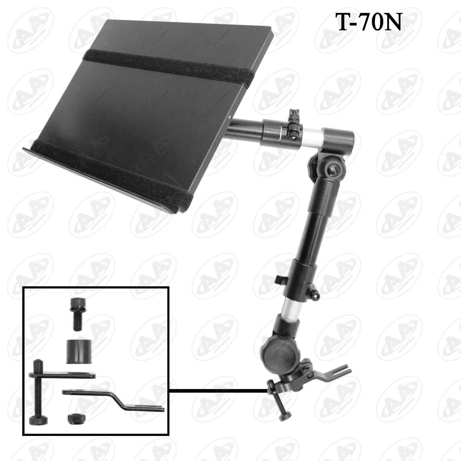 HERCHR Car Laptop/Notebook Holder, Automotive Truck Van Vehicle Mount Lightweight Holder, Black