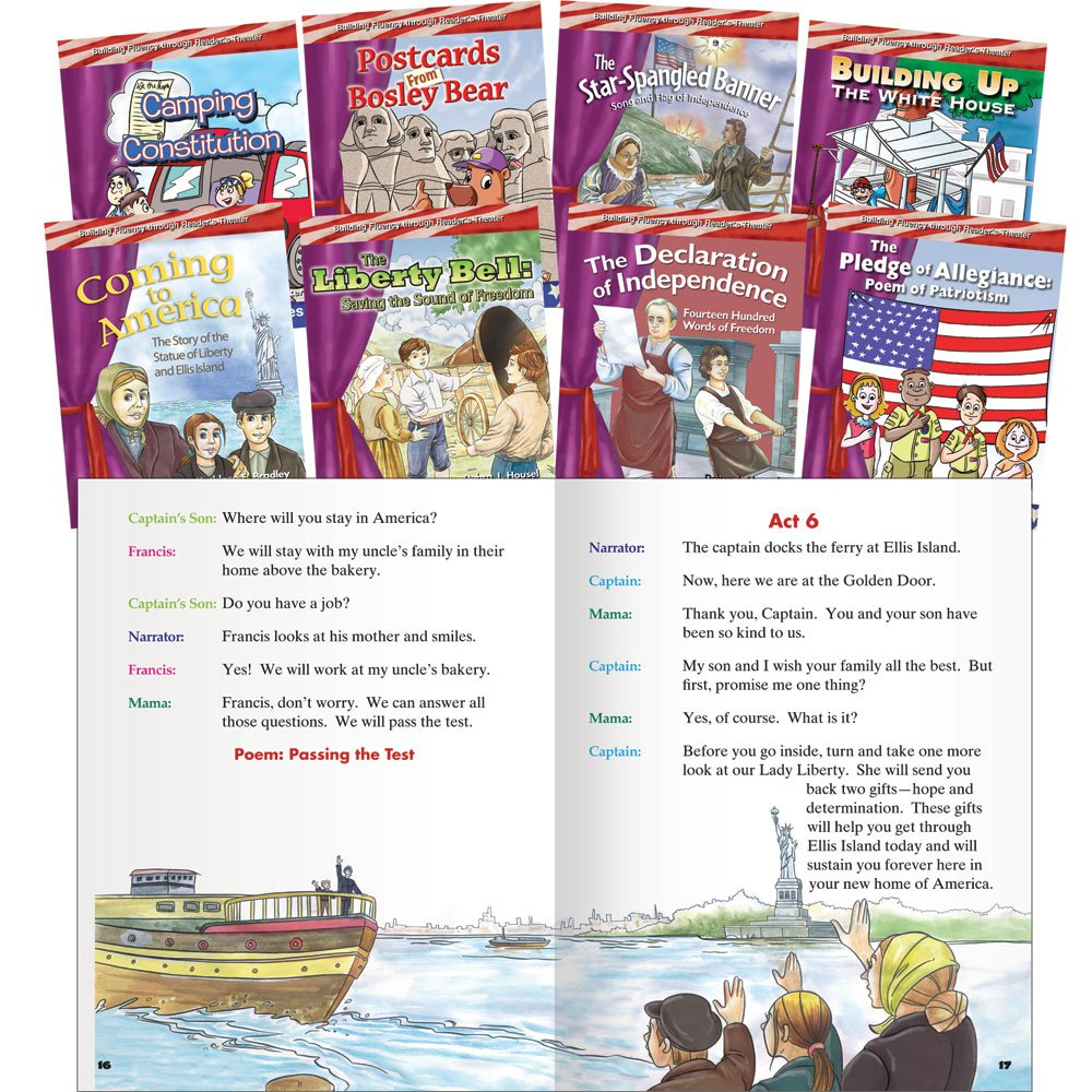 Reader's Theater:  My Country Set (Building Fluency through Reader's Theater)
