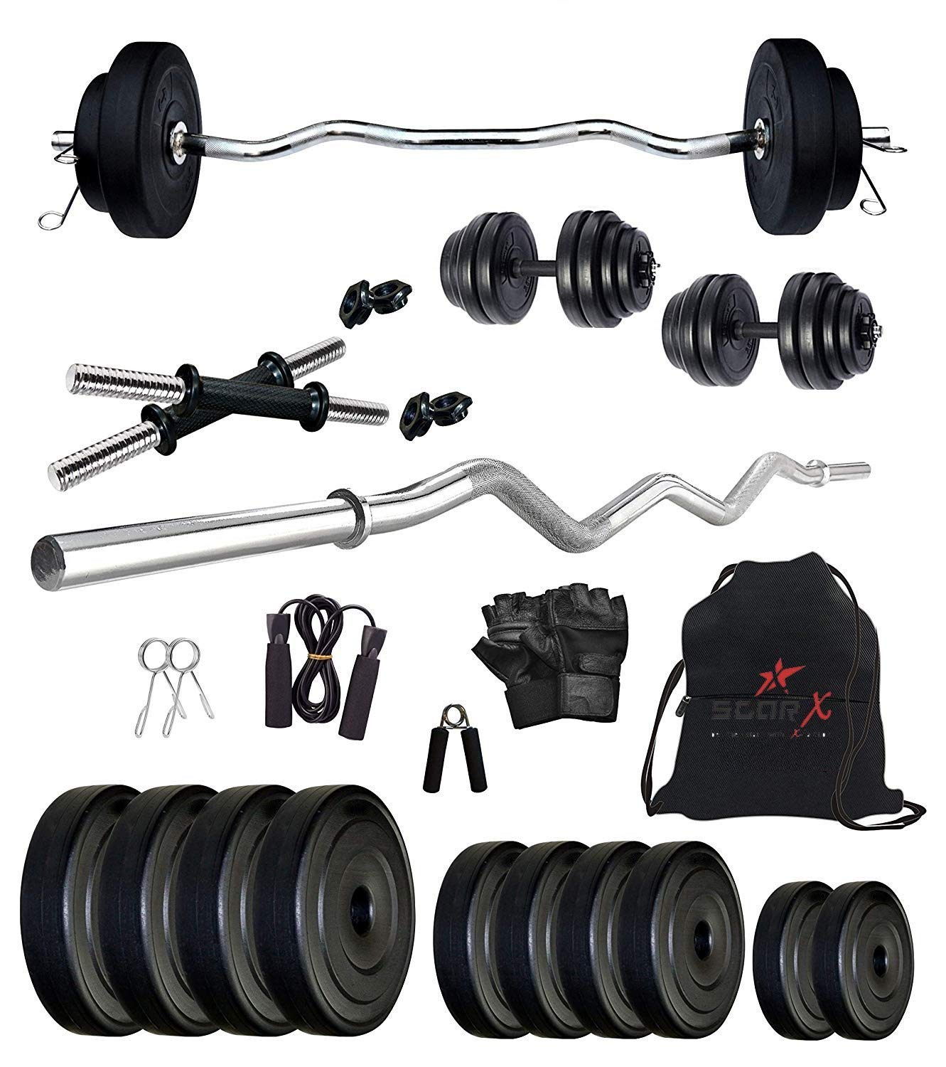 StarX Home Gym Exercise Set