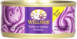 Wellness Cat Food Turkey & Salmon, 5.5 Ounce
