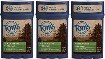 Tom's of Maine 3-Pack 24-Hour Men's Long Lasting Natural Deodorant