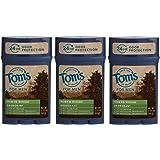 Tom's of Maine 24-Hour Men's Long Lasting Natural Deodorant Multi Pack, Deodorant for Men, Natural Deodorant, North…