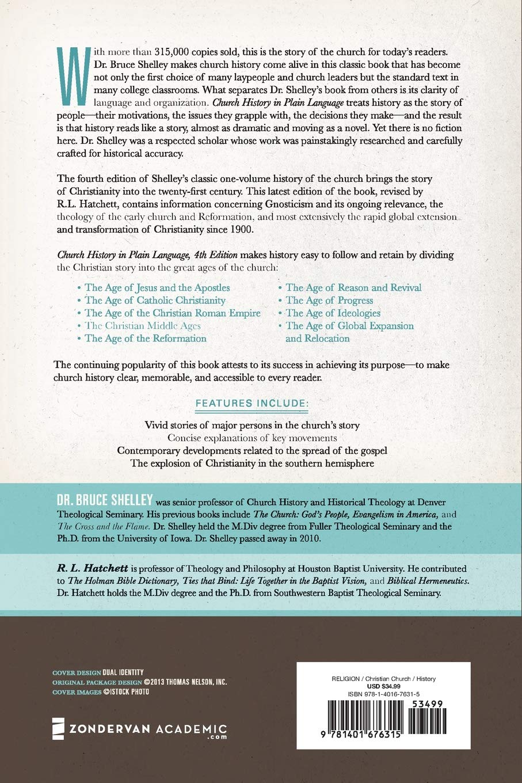 Church History in Plain Language: Fourth Edition: Bruce