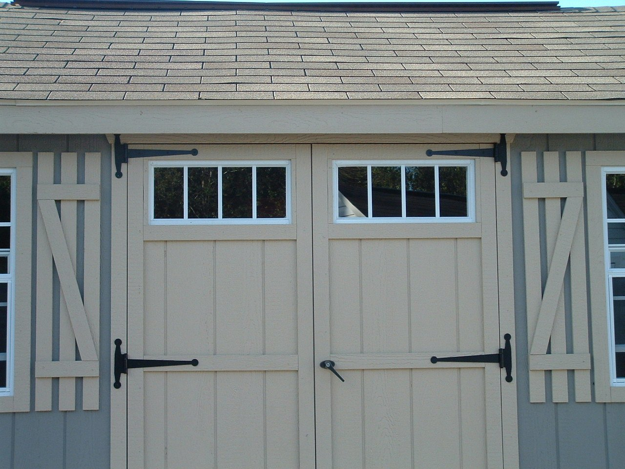 Shed Transom Window 10'' X 23'' White Flush by Shed Windows and More (Image #2)