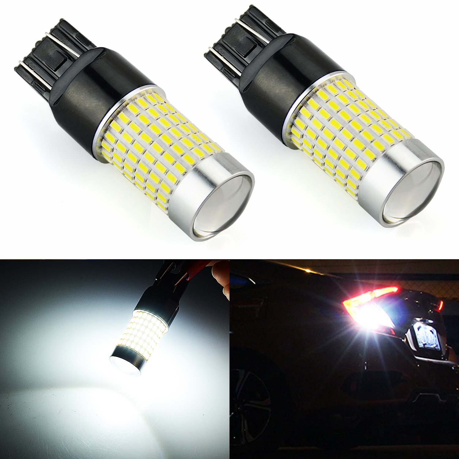 Brake Lights Bulbs Automotive Led Lamp Lightings Gt Wholesale Lamps 5mm Leds Jdm Astar 1200 Lumens Extremely Bright 144 Ex Chipsets 7440 7441 7443 7444 992