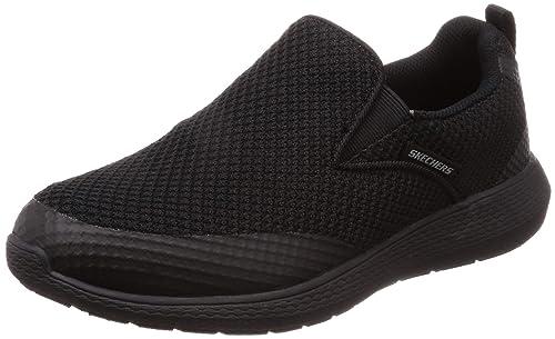 81e4eb079b6a12 Skechers KULOW Whitewater Men Slip On Slipper Black Textil 52885 ...