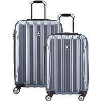 DELSEY Paris Helium Aero Hardside Expandable Luggage with Spinner Wheels, Titanium, 2-Piece Set (21/25)