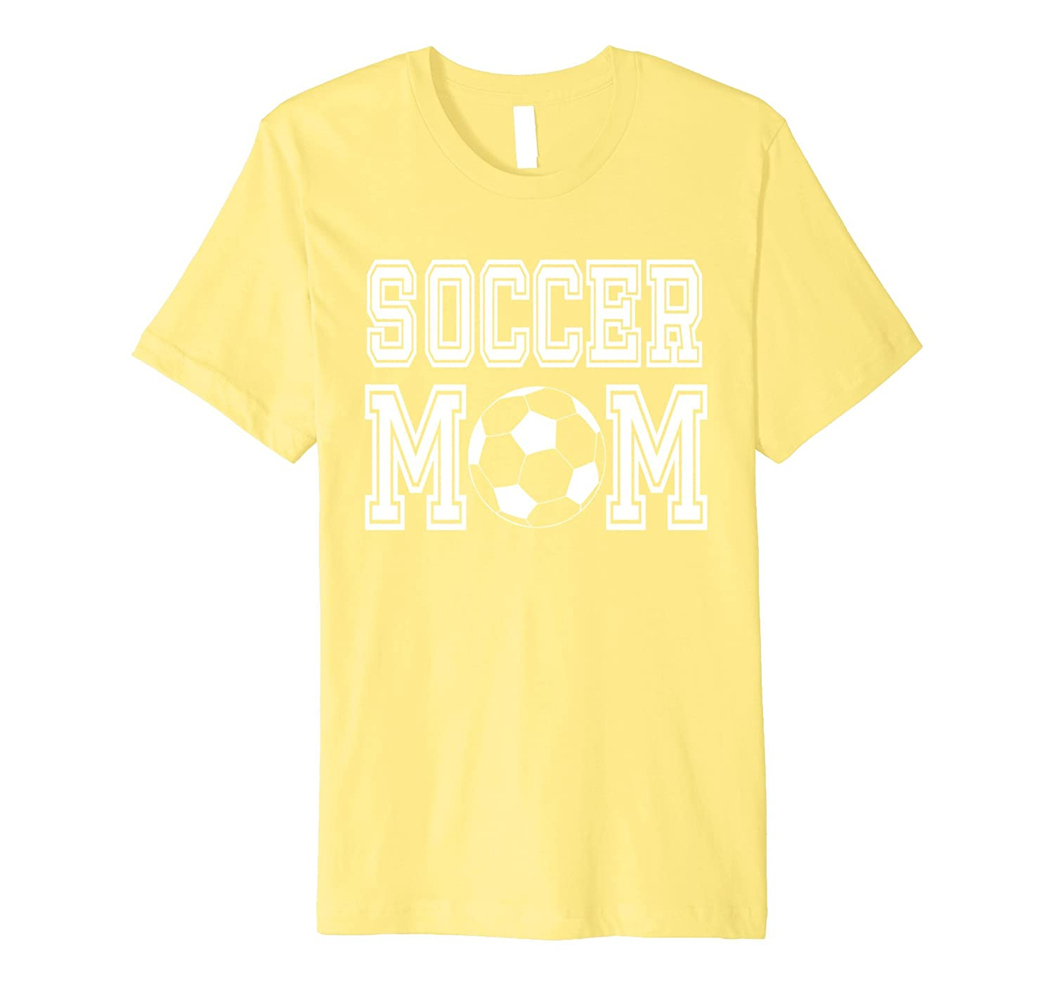 Soccer Mom Goalie Team Sport T-Shirt Mother Boy Girl Ball