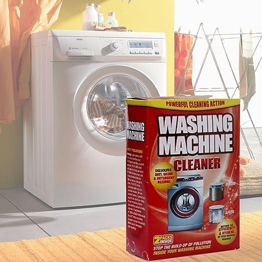 Lavadora Limpiador 2 Unidades lavado Magic elimina depósitos y sus ...