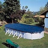 Manufacturas Gre CIPROV731 - Bâche hiver pour piscine ovale de 730 x 375 ou en huit de 640 x 390
