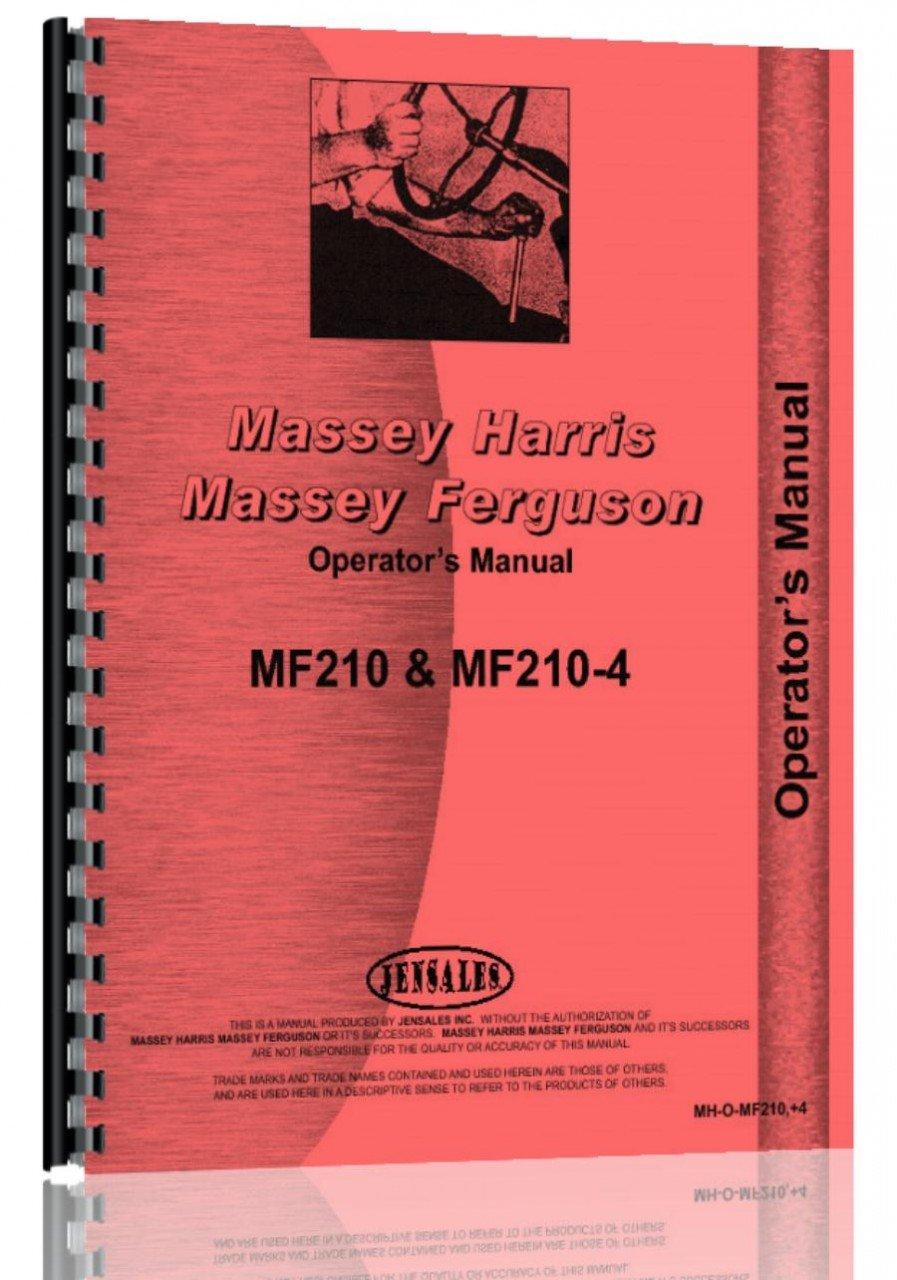 Massey Ferguson MF 210/210-4 Tractor Parts Manual: Massey Ferguson Manuals:  6301147729163: Amazon.com: Books