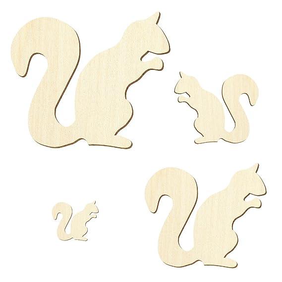 Pappel 3mm Größenauswahl Erdhörnchen Sperrholz Zuschnitte