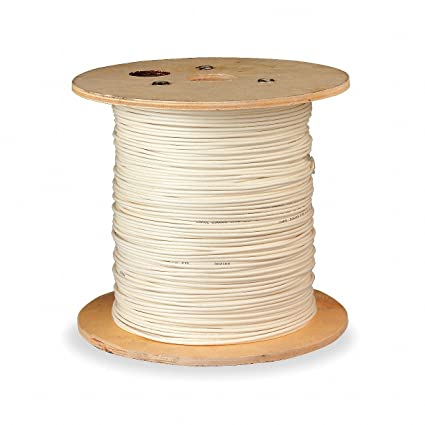Coaxial Cable, 1000 ft. Length, 14 AWG Conductor Size ...