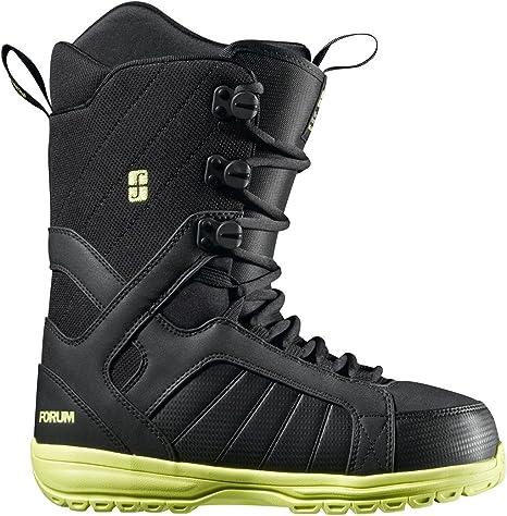 Botas para snowboard foro casi plant 12/13 negro dark and forum Talla:11,5: Amazon.es: Deportes y aire libre