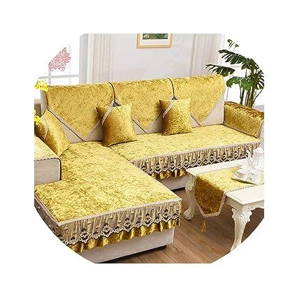 Fine Amazon Com Pan House Luxury Wine Red Gold Fleece Velvet Pabps2019 Chair Design Images Pabps2019Com