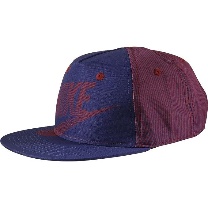 a84f139c2e791 ... discount nike boys futura print flat brim snapback dark royal blue  baseball cap hat 2ce13 e39a7