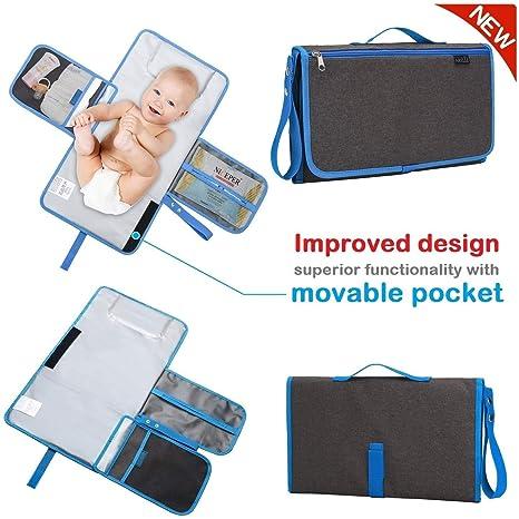 Amazon.com: Areliz - cambiador de pañales portátil para bebé ...