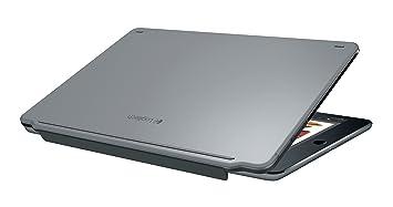 Logitech Ultrathin Bluetooth QWERTY Español Gris Teclado para móvil - Teclados para móviles (Gris,