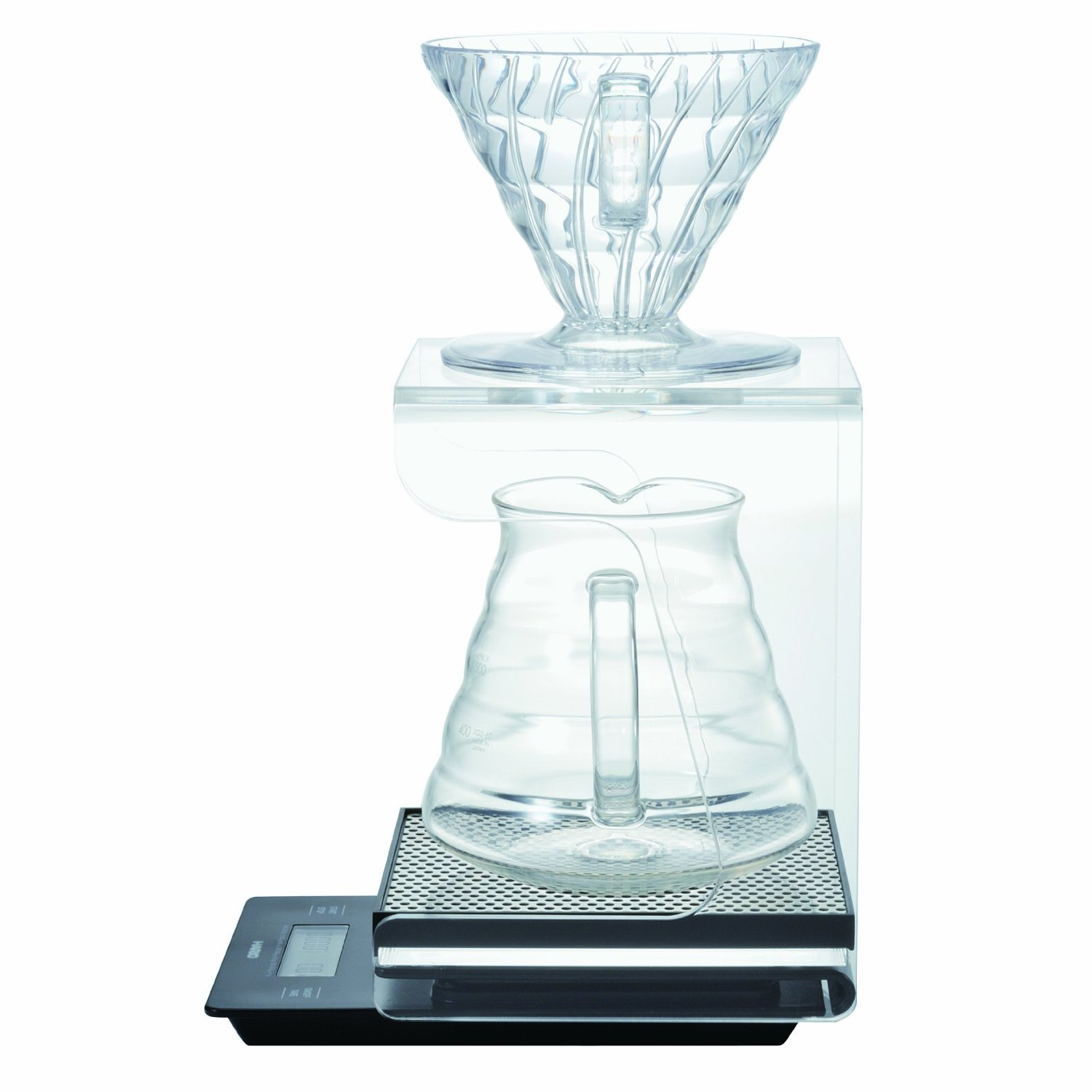 Hario V60 Complete Coffee Brewing Set - Scale, Brewer Set & Stand by Hario (Image #3)