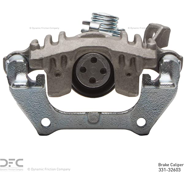 Disc Brake Caliper-Friction-Ready New Caliper with Bracket Rear-Right//Left