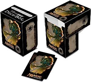 Amigo Spiel + Freizeit Ultra Pro Mana 4 ULP86091 – Caja para Guardar Cartas Magic, diseño de Caminante de Planos Ajani: Amazon.es: Juguetes y juegos