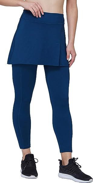 Westkun Pantalones de Falda de Mujer La Altura del Tobillo con ...