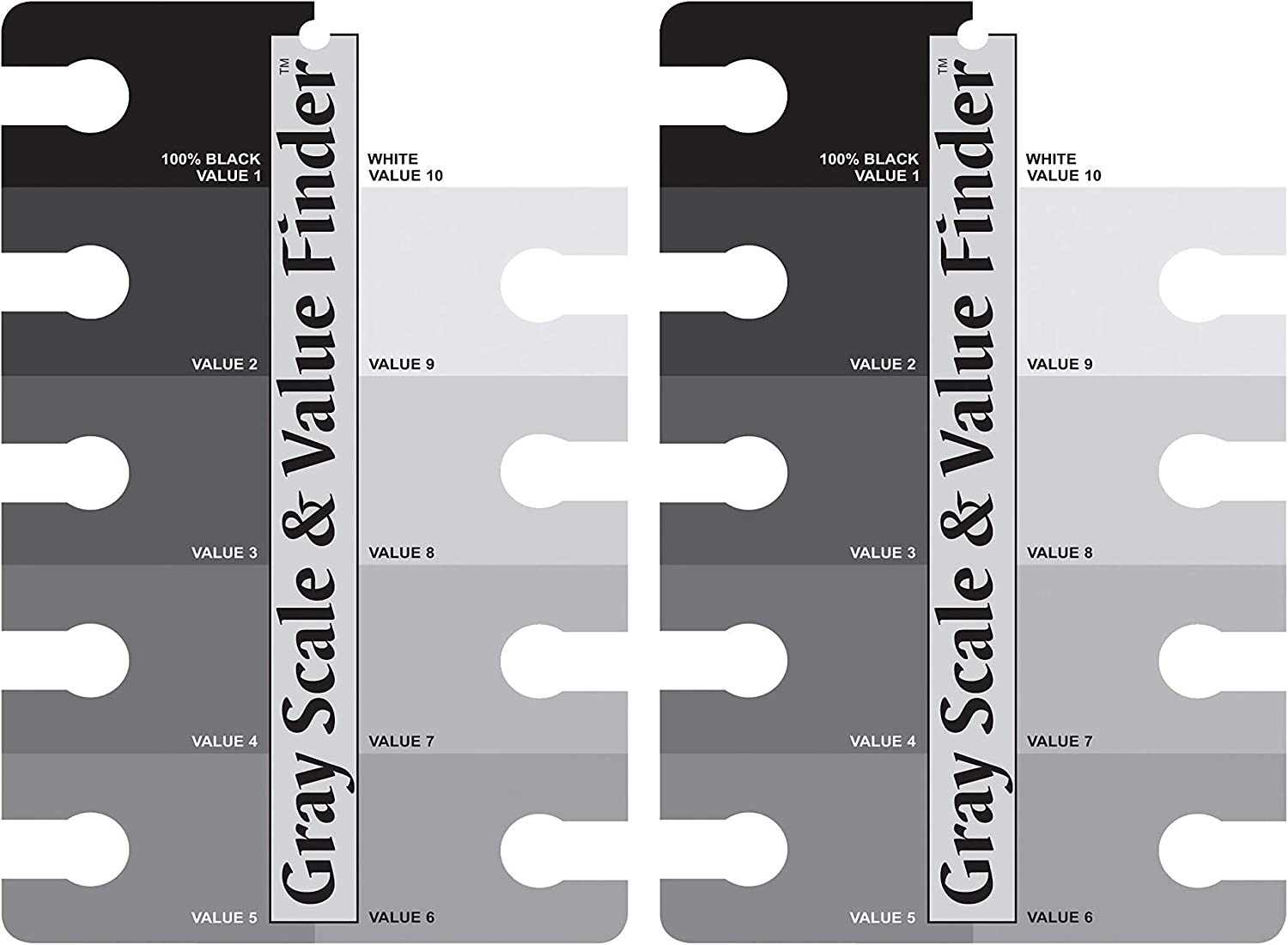 """Gray Scale /& Value Finder-4/""""x6/"""""""