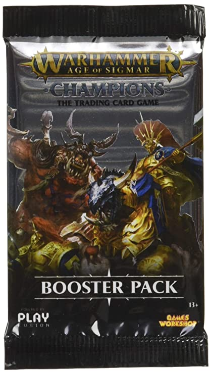 PlayFusion PLFW82501 Booster Display Warhammer Age of Sigmar Champions Collectible Card Game