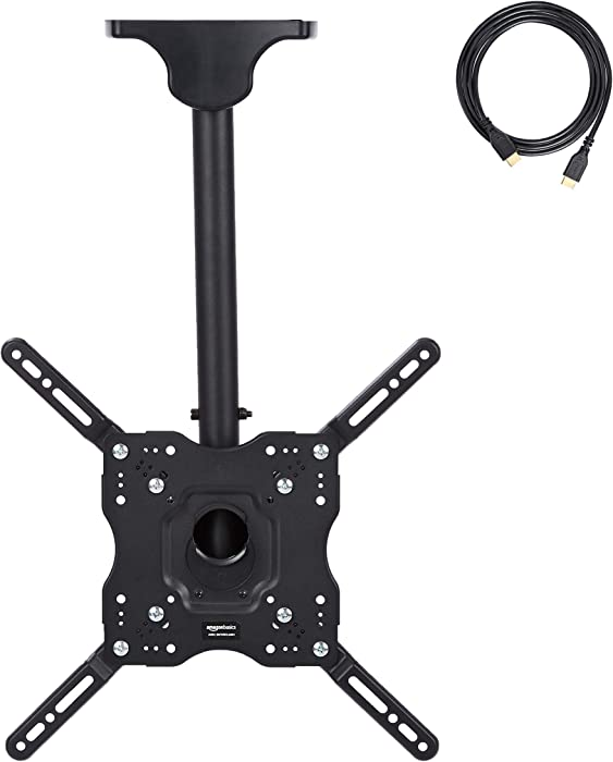 AmazonBasics Ceiling TV Mount 24-Inch to 65-Inch