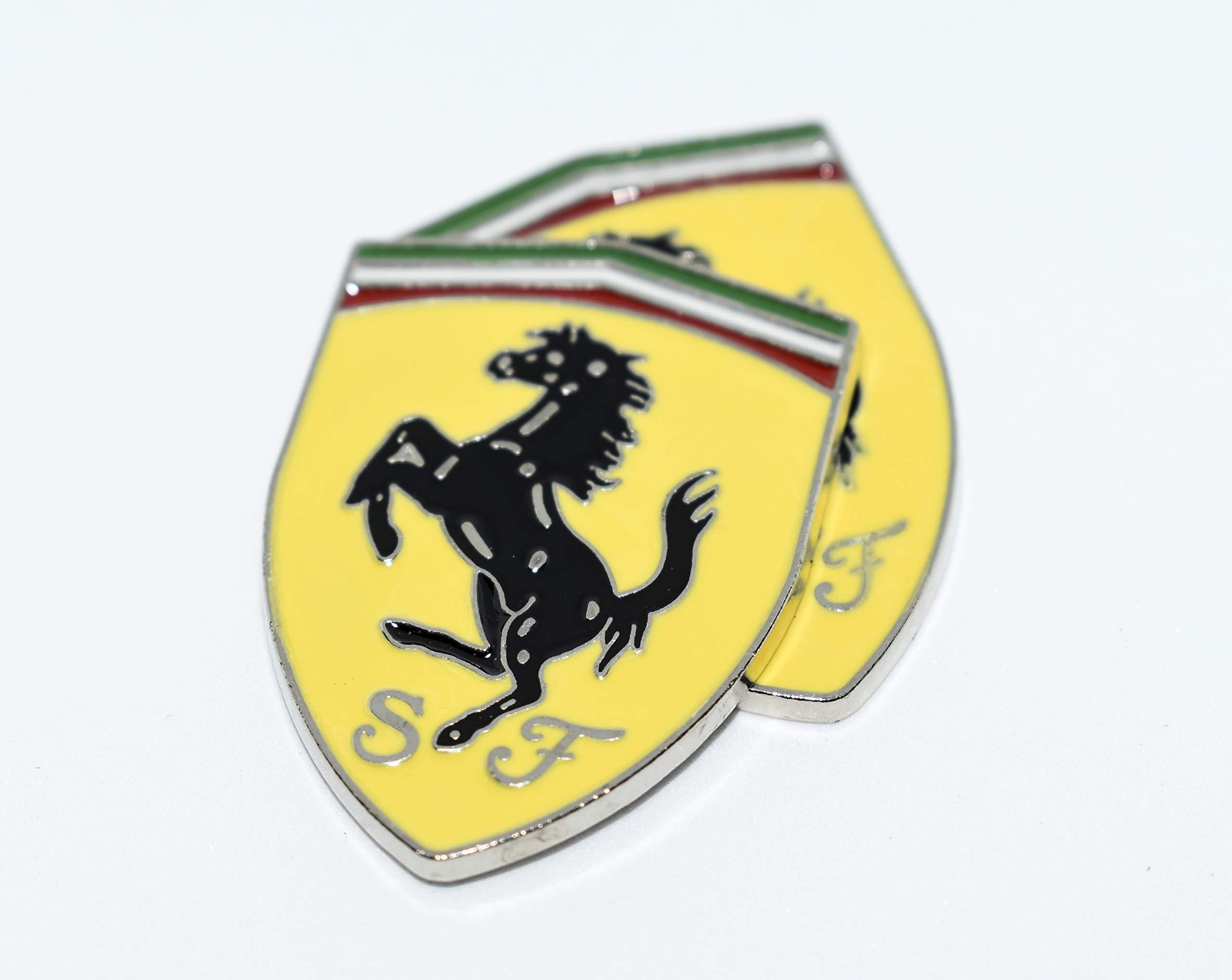 Incognito 7 Metal 3d Ferrari Logo Car Bike Sticker 8 X 6 Cm Bronze Buy Online In Faroe Islands At Faroe Desertcart Com Productid 92205529