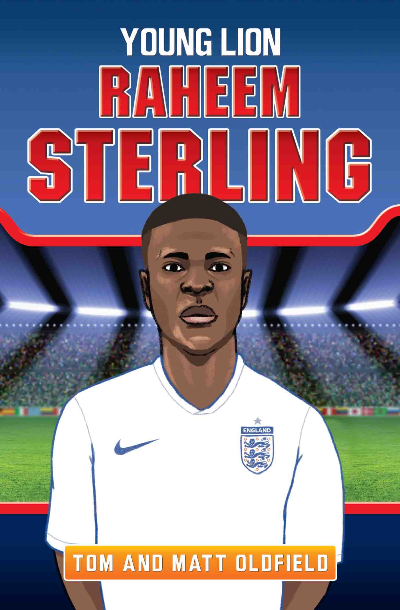 Raheem Sterling Young Lion Amazon Tom Oldfield Matt