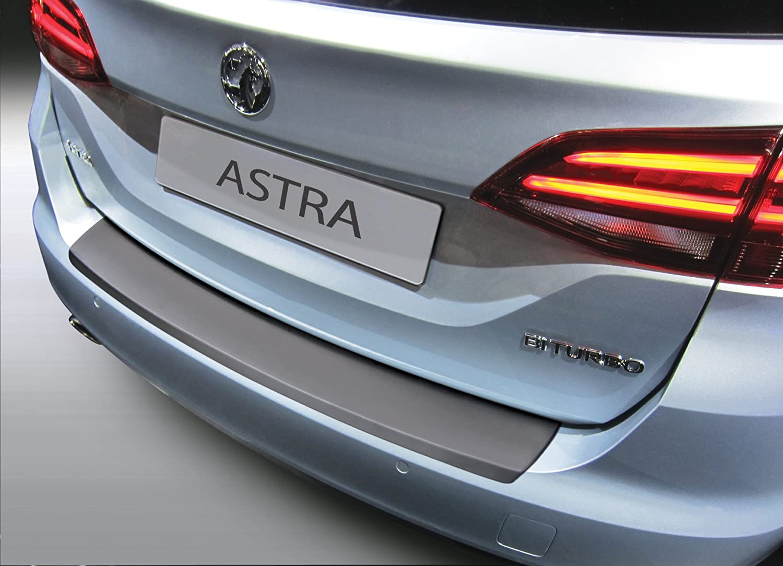 Aroba Ar904 Ladekantenschutz Kompatibel Mit Opel Astra K Sports Tourer Kombi Bj 12 2015 Stoßstangenschutz Passgenau Mit Abkantung Abs Farbe Schwarz Auto