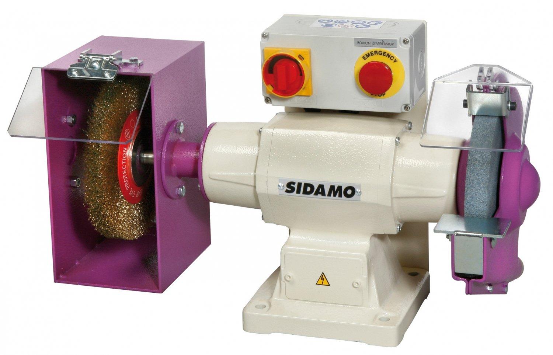 Doppelschleifer zu Schleifstein und Bürste Produktreihe Industrie 140Sidamo