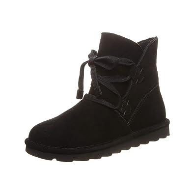 BEARPAW Women's ZORA Fashion Boot, Black, M6 M US