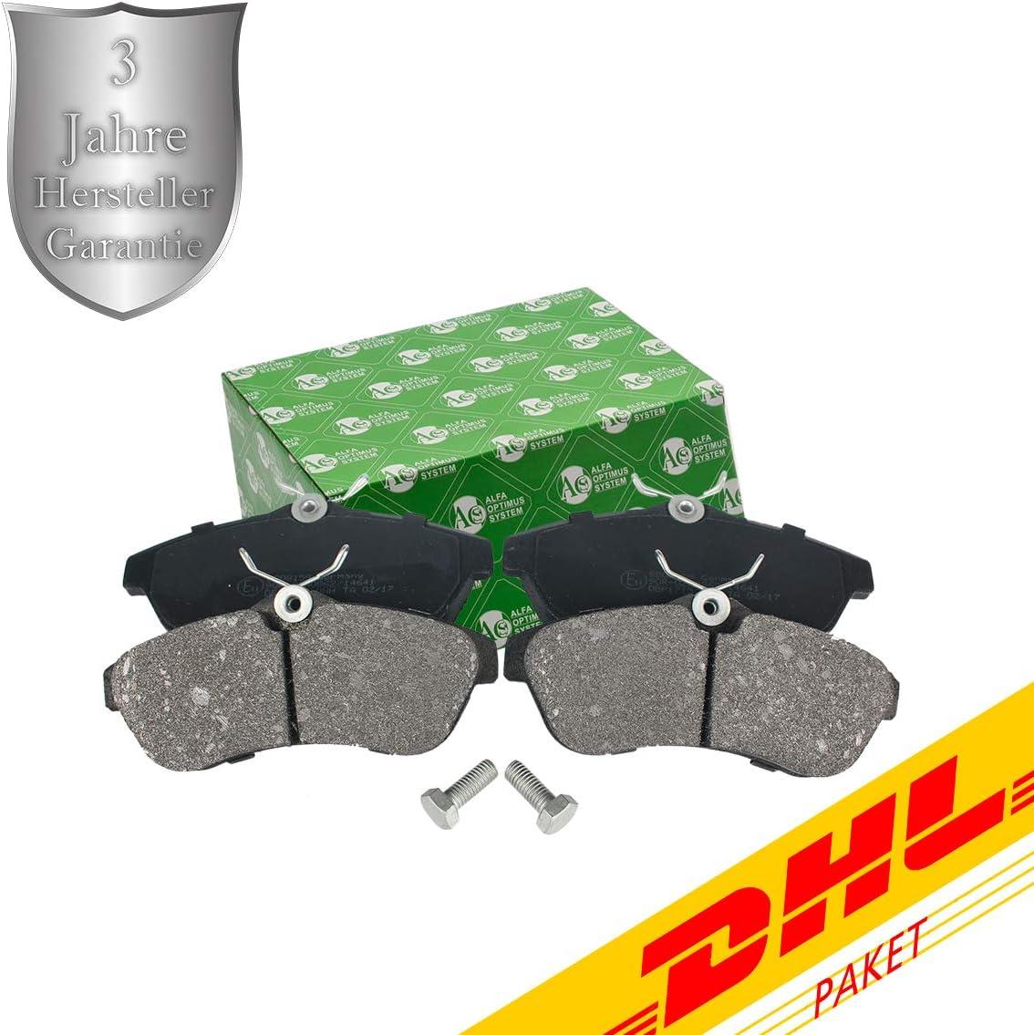 C3 Pluriel BB08159 C3 I C3 II Jeu de plaquettes de frein /à disque pour essieu avant C2
