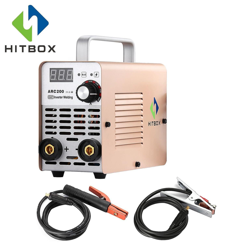 Hitbox arc120 portátil sudor eléctrica 220 V IGBT 120 AMP Stick MMA soldar con bolso y accesorios: Amazon.es: Bricolaje y herramientas
