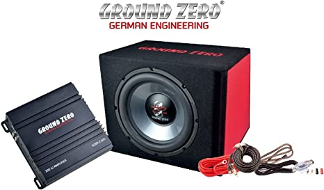 Ground Zero Subwoofer Amplifier Set For Beginners Navigation Car Hifi